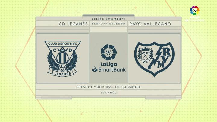 LaLiga SmartBank: resumen y goles del Leganes 1-2 Rayo