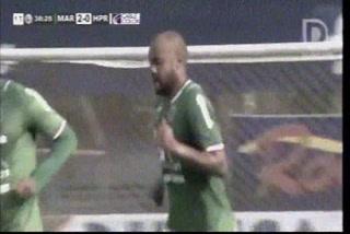 ¡Gol de Marathón! Caue Fernandeshace el 2-0 ante el H. Progreso