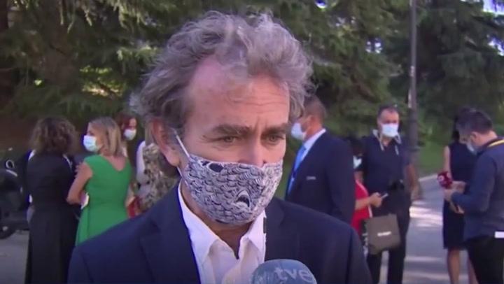 Jiménez Losantos menosprecia a Fernando Simón por la mascarilla que llevó al funeral de estado por las víctimas del Covid