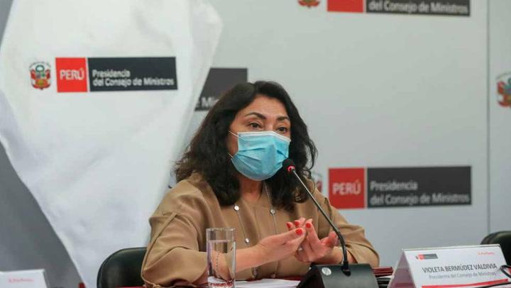 Violeta Bermúdez garantiza que vacunas son eficientes para proteger a la población