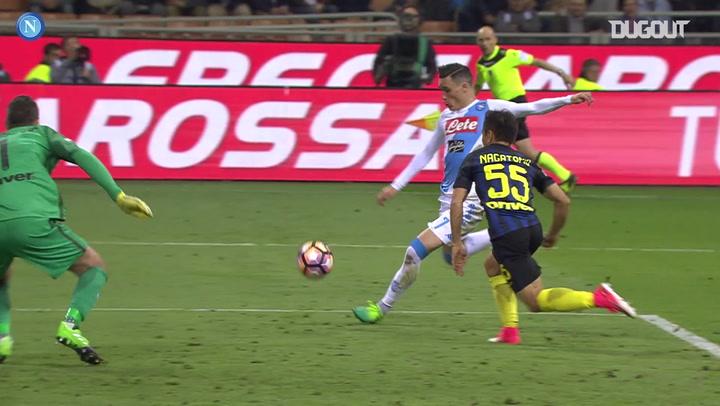Jose Callejon nets Napoli winner at Inter