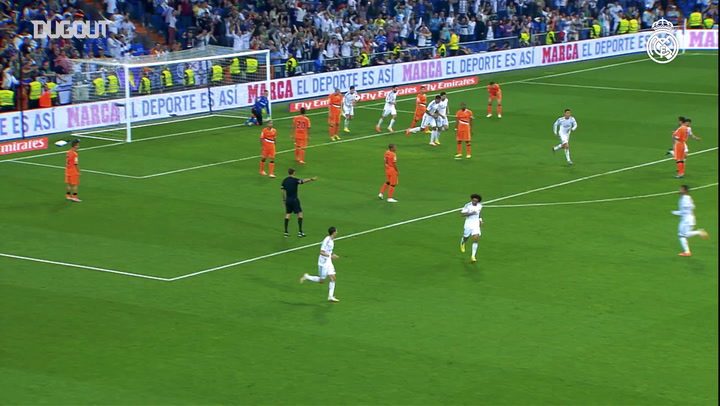 Cristiano Ronaldo magic back-heel against Valencia