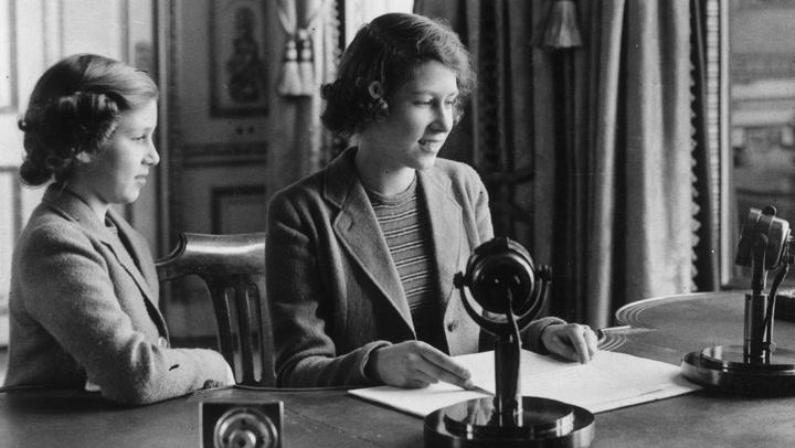 El mensaje de la reina Isabel II a los niños durante la II Guerra Mundial