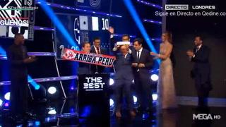 Aficionados de Perú se llevan el FIFA FAN del año