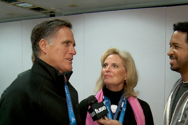 Interviews: Super Bowl XLVIII Red Carpet - Fuse Chats With Gabby Douglas, Mitt Romney & More