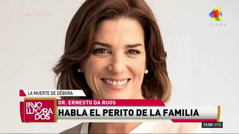 El perito de la familia descartó que Pérez Volpin tuviera una lesión en el esófago antes de la endoscopia