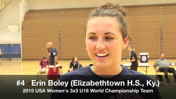 Erin Boley 3X3 U18
