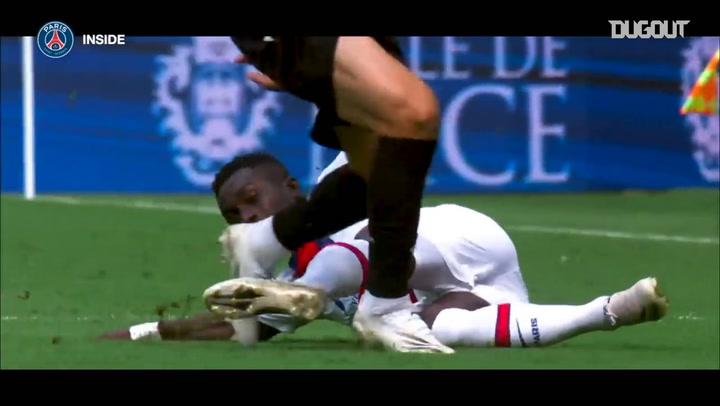 Behind the scenes of Paris Saint Germain's Ligue 1 win vs Nice