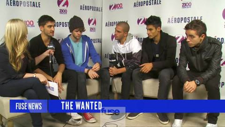 Interviews: Jingle Ball 2012: The Wanted on Bieber (Wednesday)