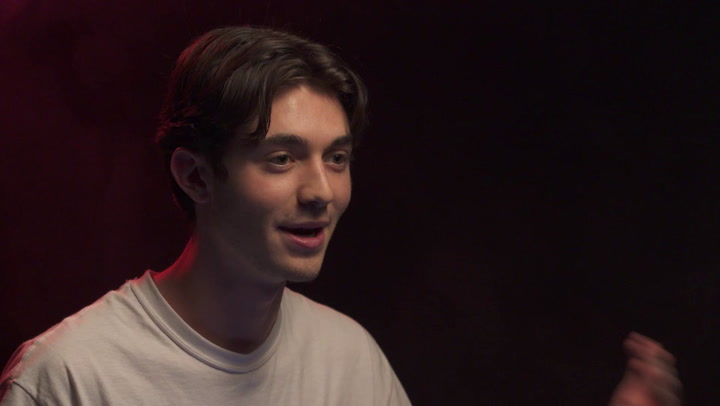 Greyson Chance Shows Us His DM's & Talks His 'Redemptive' Album