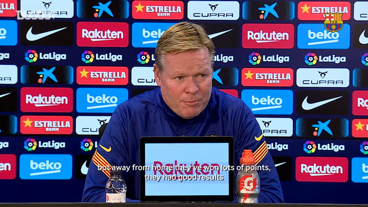 Ronald Koeman: 'We need to win all the games until the end of the year'