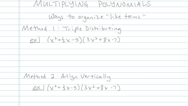 Multiplying Complicated Polynomials - Problem 2