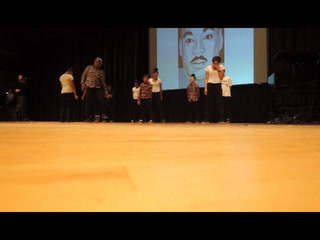 Majur Atraktion performs at MLK Rally at DECC