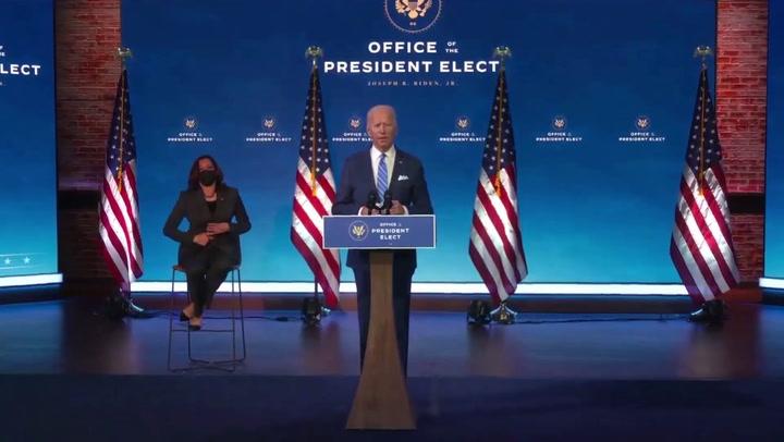Biden anuncia paquete de medidas económicas de 1,9 billones de dólares para hacer frente a la crisis del coronavirus