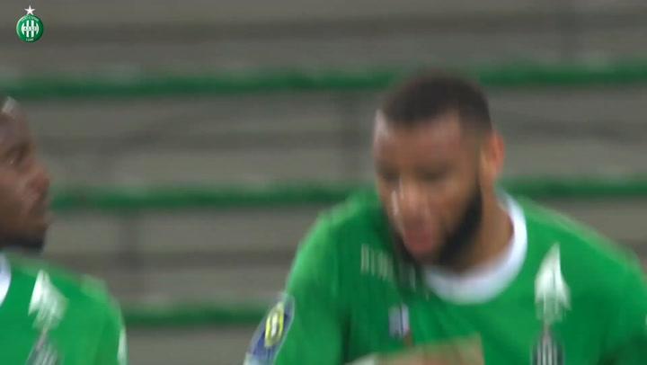 Saint-Etienne's last goals vs Lens