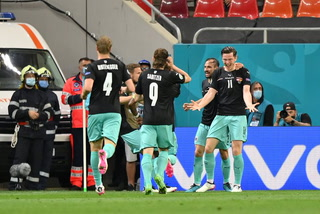 Austria derrota a la debutante Macedonia del Norte en la Eurocopa