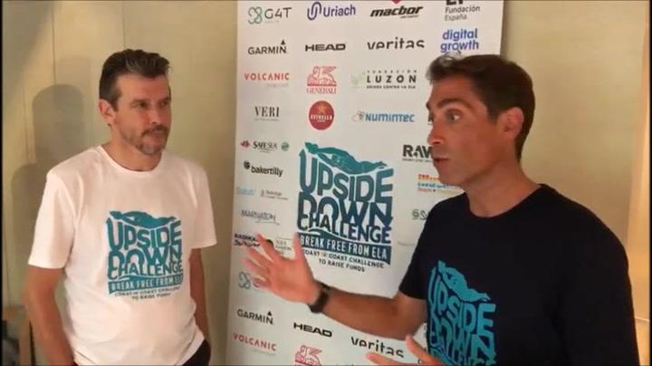 Juan Carlos Unzué apadrina el Upside Down Challenge