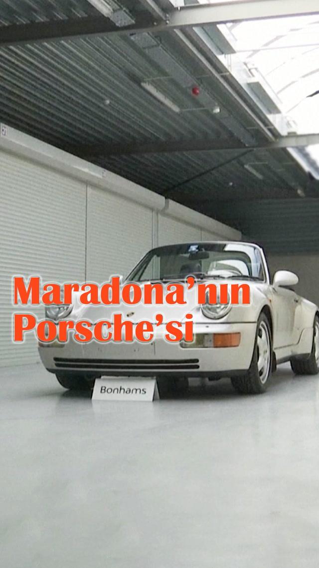 Maradona'nın kayıp Porsche'si