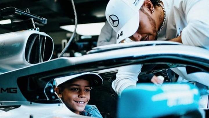El hijo de Cristiano, un piloto más en Monte Carlo