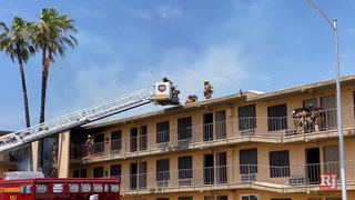 Resident of apartment complex where fire occurred said he didn't hear fire alarm – Video