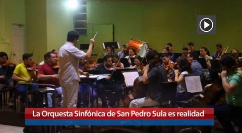 La Orquesta Sinfónica de San Pedro Sula es realidad