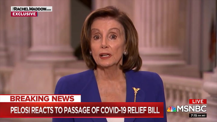 Pelosi: Increased Election Funding So There's 'More Vote by Mail' 'Associated' with 'Coronavirus Necessity List'