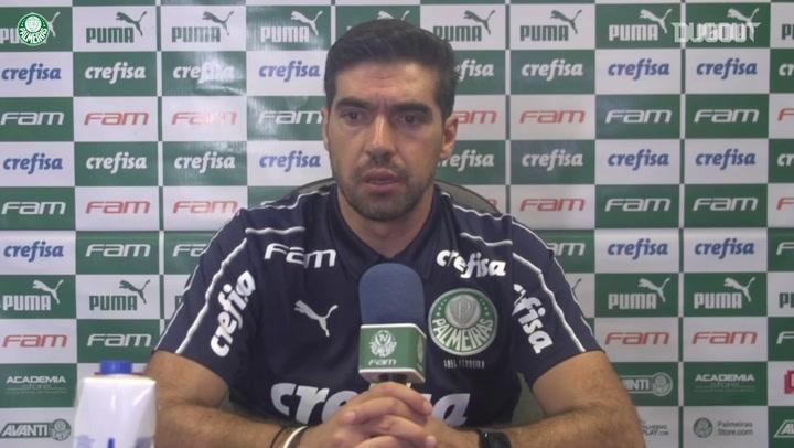 Abel Ferreira analisa vitória no primeiro jogo da final da Copa do Brasil