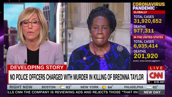Dem Rep. Jackson Lee: Breonna Taylor Decision 'Shameful' -- 'Very Obvious to Us That There Was a Grave Injustice'