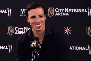 Fleury on his three-year extension: To stay in Vegas a long time was big