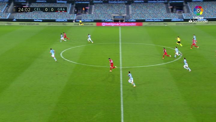 Gol de Luis Suárez (0-1) en el Celta 3-1 Granada