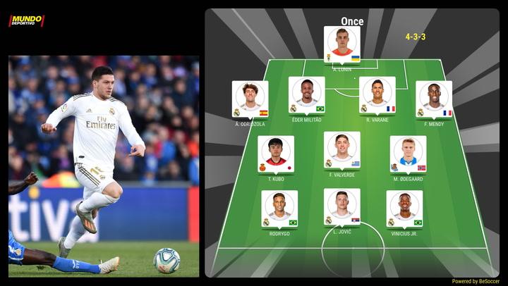 Así sería un posible once del futuro Real Madrid