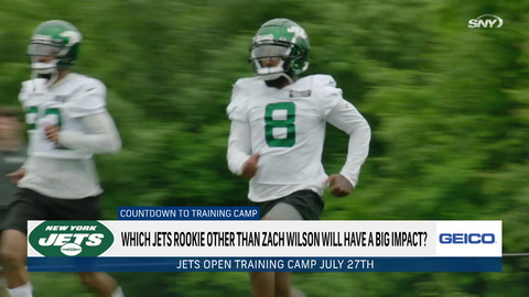 Which Jets rookie other than Zach Wilson will have big impact?