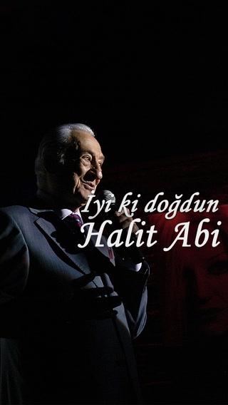 İyi ki doğdun Halit Abi