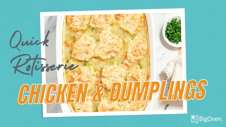 Quick Rotisserie Chicken and Dumplings