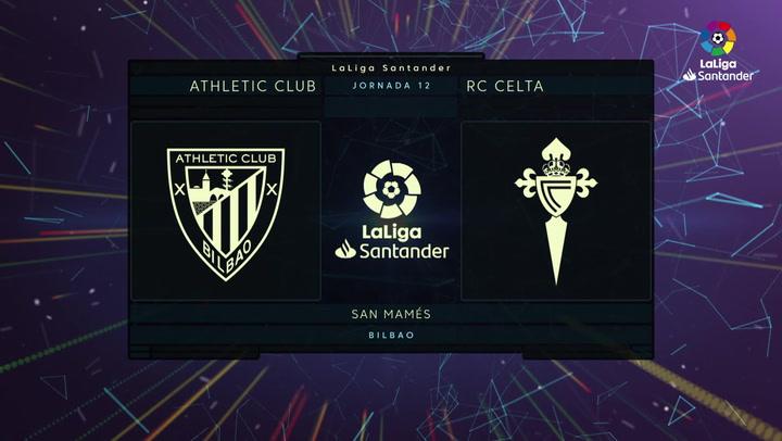 LaLiga (J12): Resumen y goles del Athletic 0-2 Celta