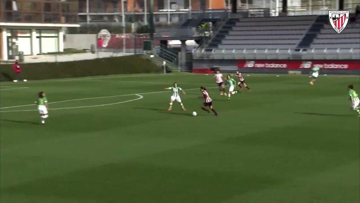 El resumen del Athletic - Betis (2-2) de la Liga Iberdrola