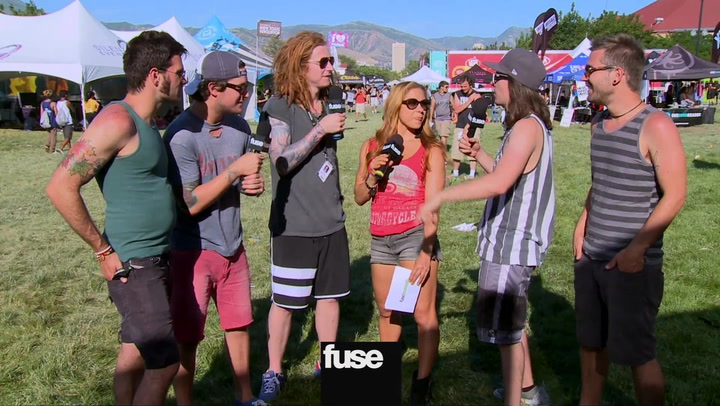 "Festivals:Warped: We The Kings ""Tour Superlatives"""