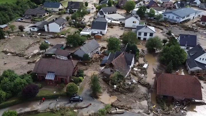Deadly flooding leaves trail of damage in Germany