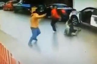 Intenta robar su coche y se llevan tremenda paliza del dueño ¡Era boxeador!