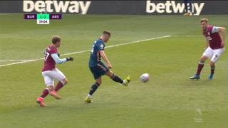 Error de Xhaka condena al Arsenal a empate en Burnley