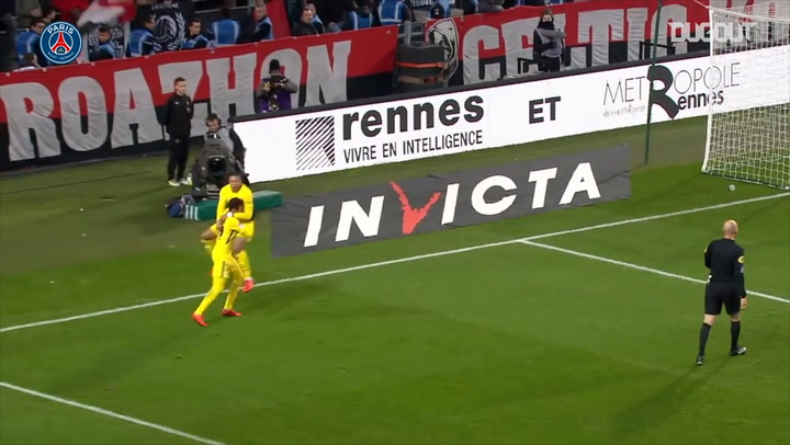 All Neymar 's assists for Kylian Mbappé so far in Ligue 1