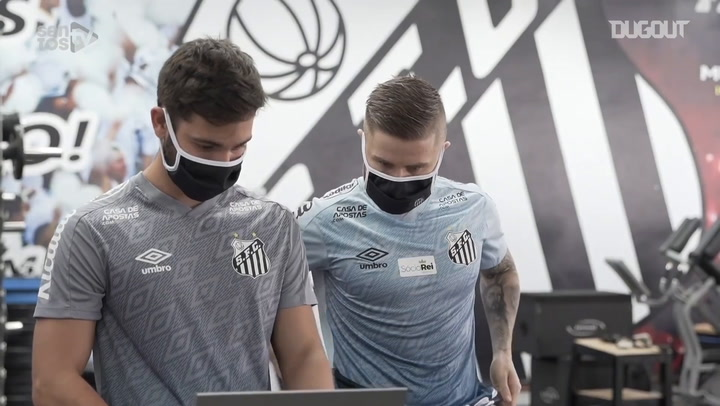Santos' physical tests before returning to training