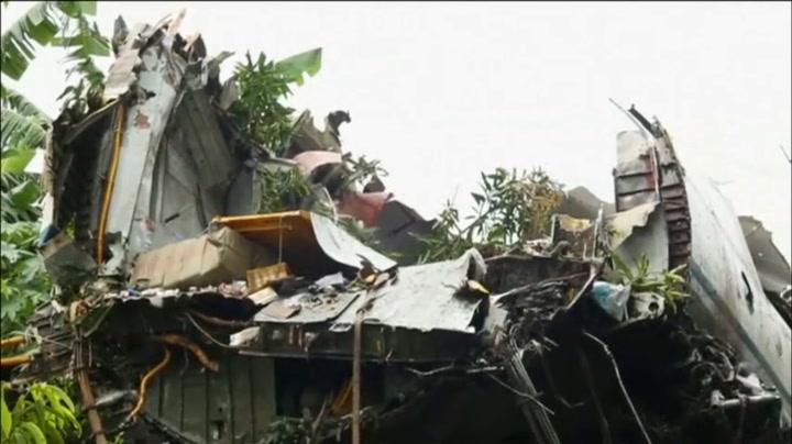 Doden bij vliegtuigcrash Z-Soedan