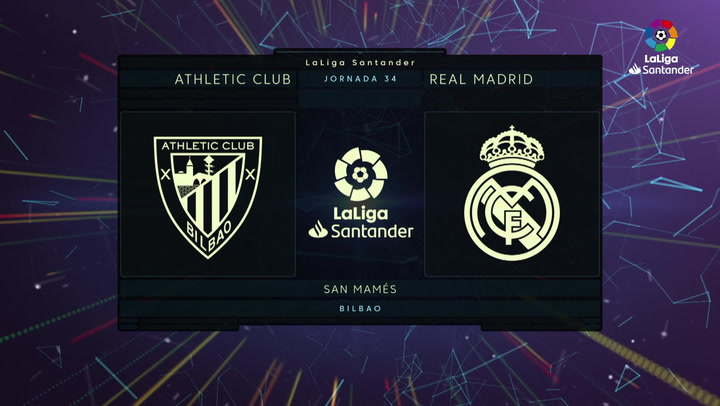 LaLiga (J34): Resumen y gol del Athletic 0-1 Real Madrid