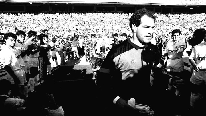 Treinta años del pasillo del Madrid de la Quinta al 'Dream Team'