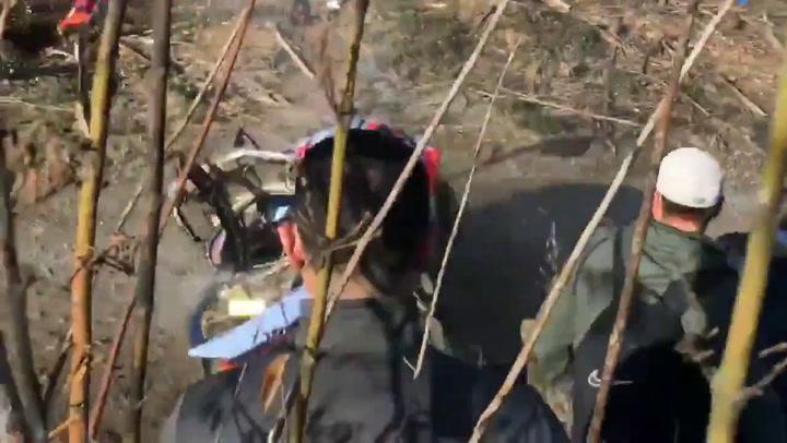 El tremendo accidente de Thierry Neuville en el Rally de Chile grabado por el aficionado @barrionuevofern