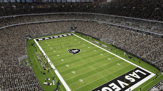 Inside the new Raiders stadium in Las Vegas