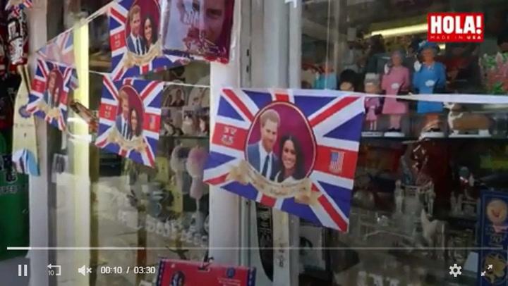 ¿Cómo se prepara Windsor para la boda de Harry y Meghan? HOLA! es testigo