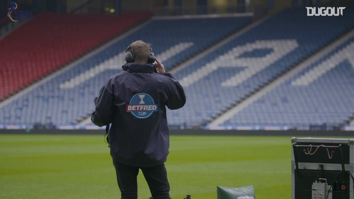 Aberdeen Prepare For The 2018 SPFL Betfred Cup Final
