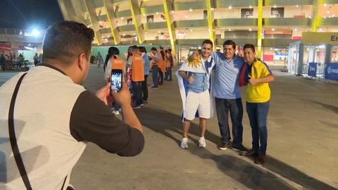 Uruguayos, optimistas tras goleada en el debut ante Ecuador